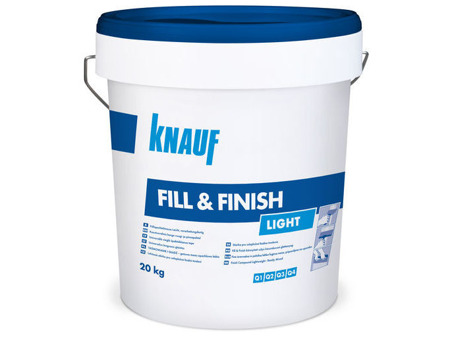 KNAUF Fill & Finish Light 20kg Spachtelmasse Fertigspachtel